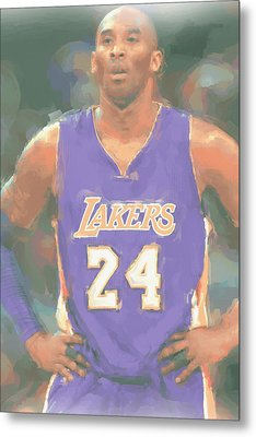 Los Angeles Lakers Kobe Bryant 2 Metal Print by Joe Hamilton