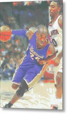 Los Angeles Lakers Kobe Bryant Metal Print by Joe Hamilton