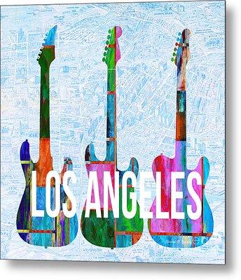 Los Angeles Music Scene Metal Print