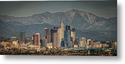 Los Angeles Skyline Metal Print by Neil Kremer