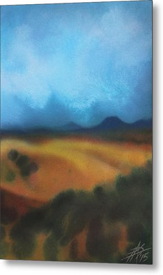 Los Penasquitos Canyon Vii Or Approaching Storm Metal Print