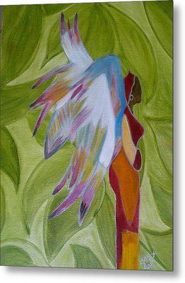 Lost Angel Metal Print by Elizabeth Ribet