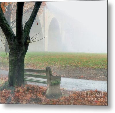 Lost In A Fog Metal Print