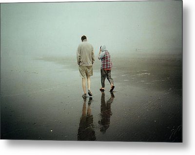 Lost In The Fog Metal Print by Sergey  Nassyrov