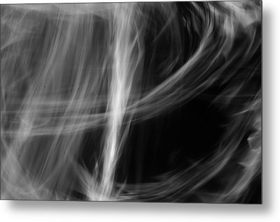 Lost In The Mist Metal Print by Jaron R