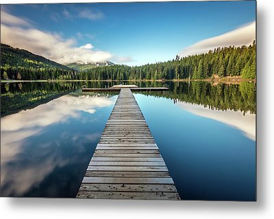 Metal Print featuring the photograph Lost Lake Dream Whistler by Pierre Leclerc Photography
