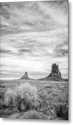Lost Souls In The Desert Metal Print by Jon Glaser