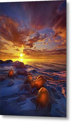 Metal Print featuring the photograph Lost Titles, Forgotten Rhymes by Phil Koch