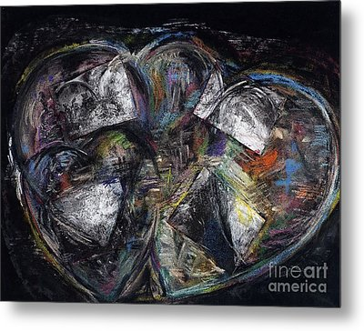 Lots Of Heart Metal Print by Frances Marino