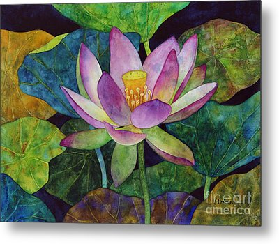 Lotus Bloom Metal Print by Hailey E Herrera