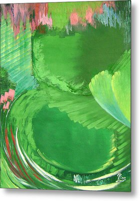 Lotus Leaves Metal Print by Lian Zhen