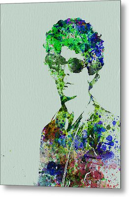 Lou Reed Metal Print by Naxart Studio