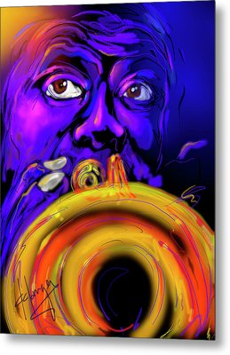 Louie Metal Print by DC Langer