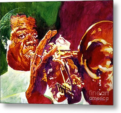 Louis Armstrong Pops Metal Print