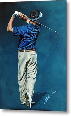 Louis Osthuizen Open Champion 2010 Metal Print by Mark Robinson