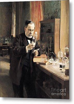Louis Pasteur Metal Print