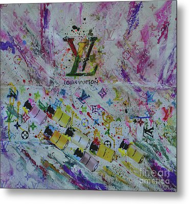 Louis Vuitton The Magnificent Seven  Metal Print by To-Tam Gerwe