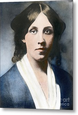 Louisa May Alcott Metal Print