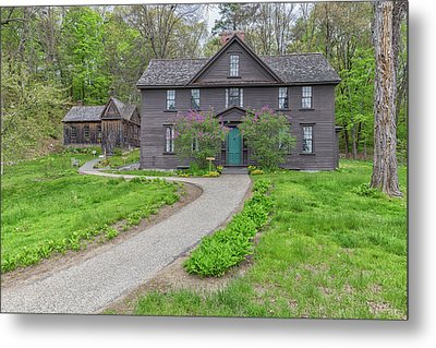 Louisa May Alcotts Orchard House Metal Print