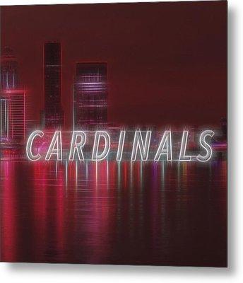 #louisville #cardinals Metal Print