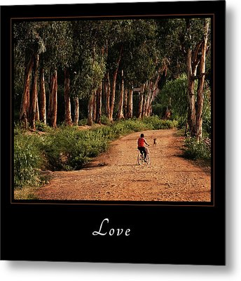 Metal Print featuring the photograph Love 3 by Mary Jo Allen