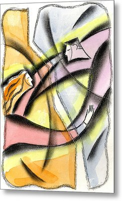 Love And Liberty Metal Print by Leon Zernitsky