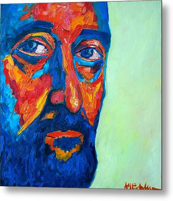 Metal Print featuring the painting Love Him So Much by Ana Maria Edulescu