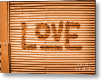 Love Is All Metal Print by Jorgo Photography - Wall Art Gallery