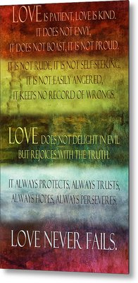 Metal Print featuring the digital art Love Is  by Angelina Vick