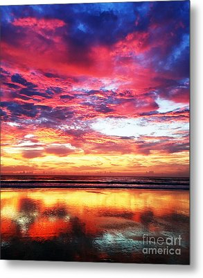 Love Is Real Metal Print
