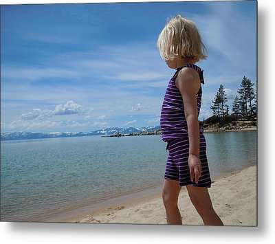 Metal Print featuring the photograph Love Lake Tahoe by Dan Whittemore