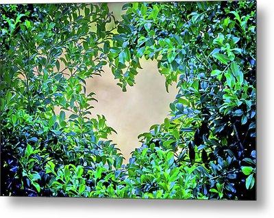 Love Leaves Metal Print by Az Jackson