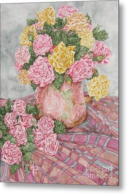 Love Of Roses Metal Print