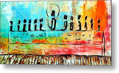 Love One Another IIl Metal Print