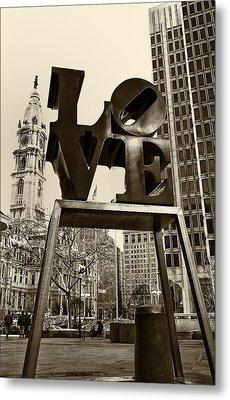 Love Philadelphia Metal Print