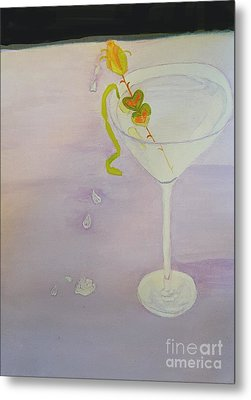 Love Potion Valen-tini In Moderation Metal Print by ARTography by Pamela Smale Williams