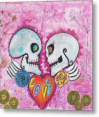 Love Story Metal Print by Laura Barbosa