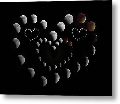 Love You To The Moon And Back Metal Print by Betsy Knapp