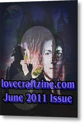 Lovecraftzine Coverpage June Metal Print