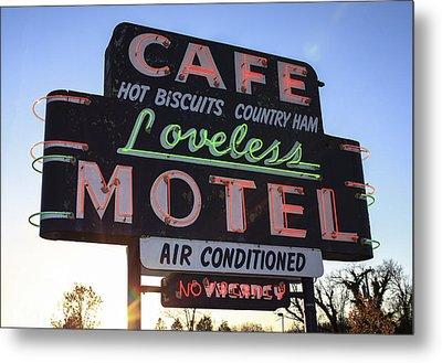 Loveless Cafe And Motel Nashville Metal Print