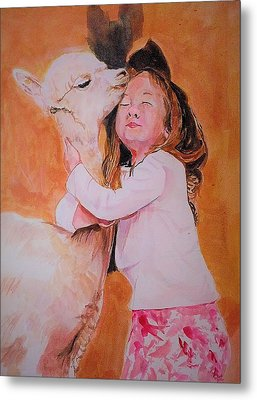 Sensitivity. Metal Print by Khalid Saeed
