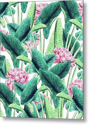Lovely Botanical Metal Print