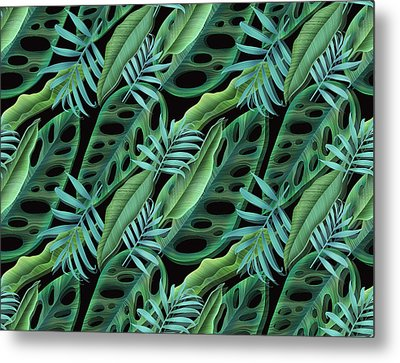 Lovely Green  Metal Print by Mark Ashkenazi
