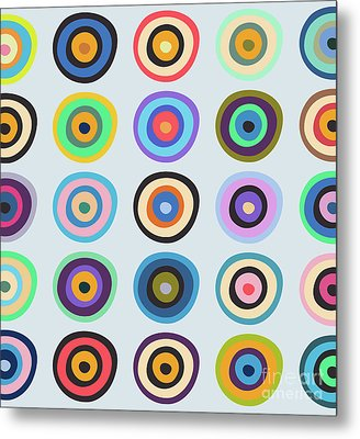 Lovely Pattern V Metal Print by Amir Faysal