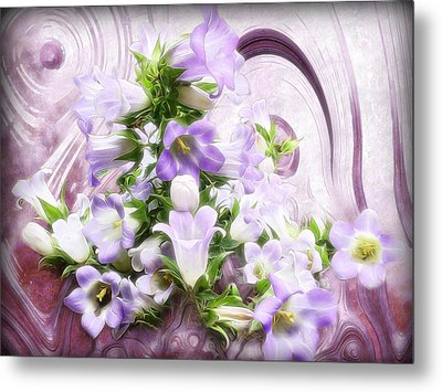 Lovely Spring Flowers Metal Print by Gabriella Weninger - David