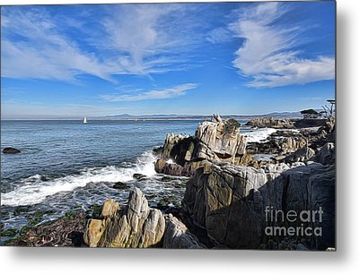 Lovers Point Park Metal Print by Gina Savage