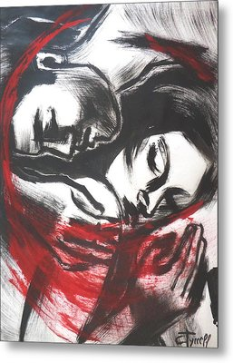 Lovers - The Power Of Love 2 Metal Print