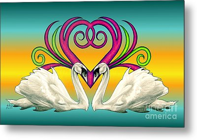 Loving Souls Metal Print