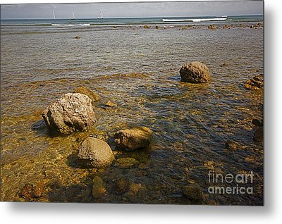 Metal Print featuring the photograph Low Tide 2 by Nicola Fiscarelli
