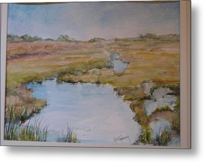 Low Tide Metal Print by Dorothy Herron